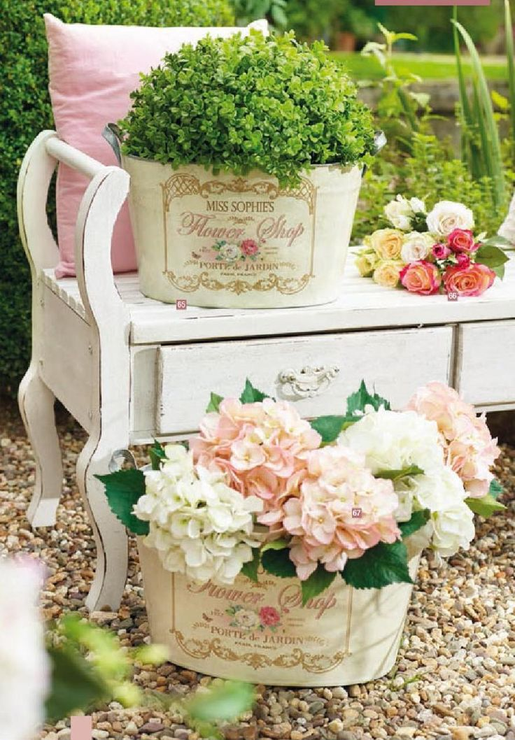 1718 best images about shabby chic on pinterest for Shabby romantique