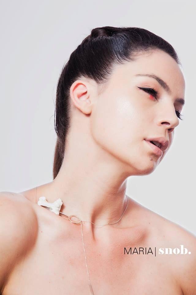 MARIA|snob. A/W2015 Campaign starring Maria Dinulescu  photo: Camil Dumitrescu make-up: Ana Budeanu Make Up hairstyle: Dana Negrila