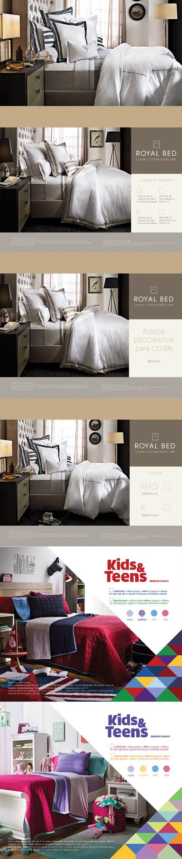 Royal Bed // ¿Ya conoces las sábanas, edredones y fundas de la línea Royal Bed? Se trata de una marca propia de Casa Palacio que retoma el uso de algodón y materiales de primera calidad en sus diferentes colecciones.