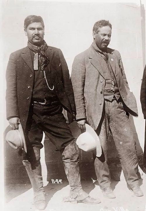 best francisco villa images mexican revolution  rodolfo fierro and pancho villa in happier times before villa s right hand man fierro took a shot at him and was subsequently executed