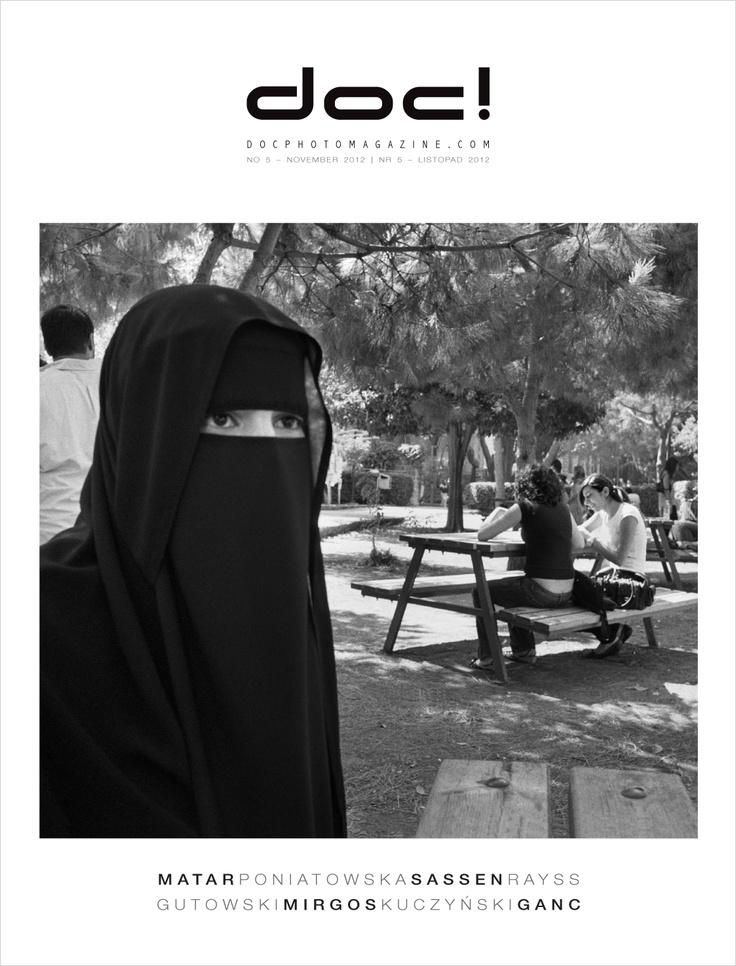 Cover of doc! photo magazine #5.  Cover photo: Rania Matar.