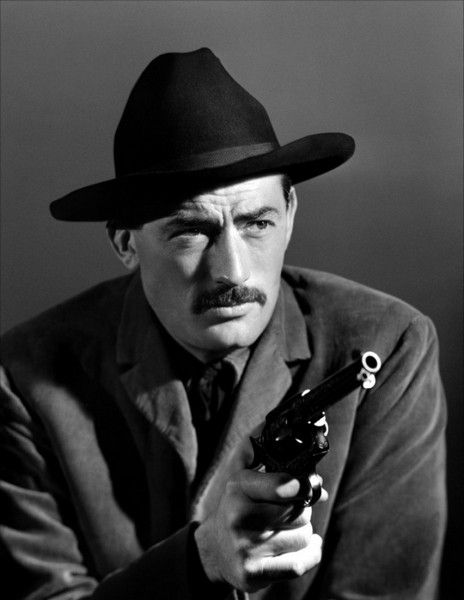 THE GUNFIGHTER (1950) - Gregory Peck as 'Jimmy Ringo' - Directed by Henry King - 20th Century-Fox - Publicity Still.