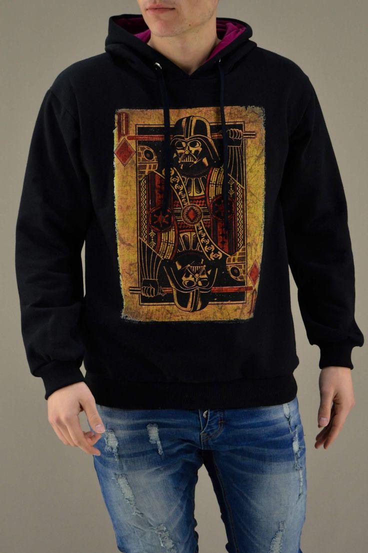 Ανδρικό φούτερ Vader Τραπουλόχαρτο FOUT-1216-bc | Φούτερ > Sport