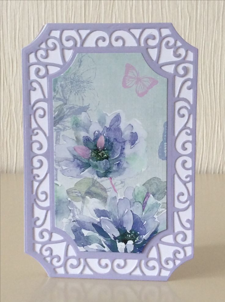 Evelyn Michie. Tonic Swirling Frame die and Hunkydory Fabulous Florals little book