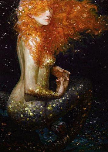 Mermaid (title unknown) by Victor Nizovtsev