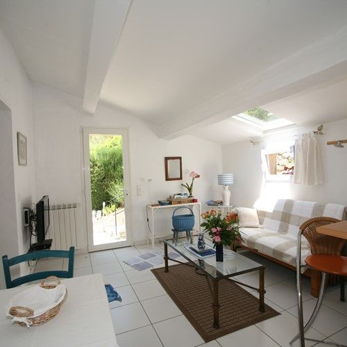 Maison Bleue Mandelieu Villa Rental Pool Living