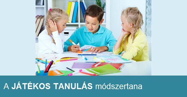 A játékos szemléletmód a legjobb tanító. Játékos tanulás módszertanával gyermeked sokkal fogékonyabb lesz a tudásra, sikeresebb felnőtt válhat belőle!