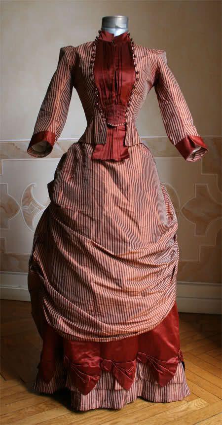 Moda Victoriana: El Polison.(1870- 1890)