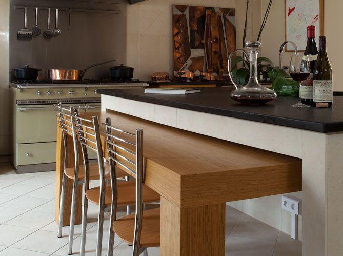 Cuisine en îlot / An island in your kitchen…