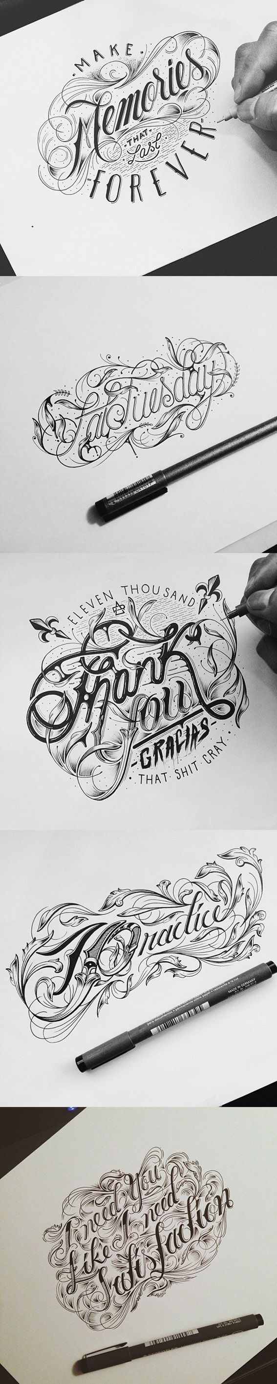 Hand lettering by Raul Alejandro