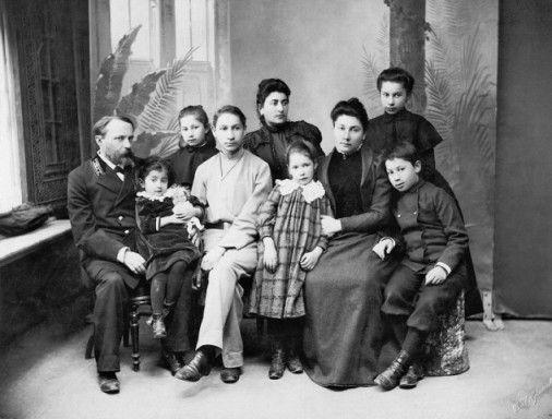 Famiglia Florenskij, Tiflis 1900
