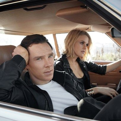 Behind the shoot: Tertius Bune on Benedict Cumberbatch and Alice Eve