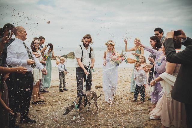 Verträumte Boho Hochzeit am Strand in Cornwall von Ali Paul | Hochzeitsblog - The Little Wedding Corner