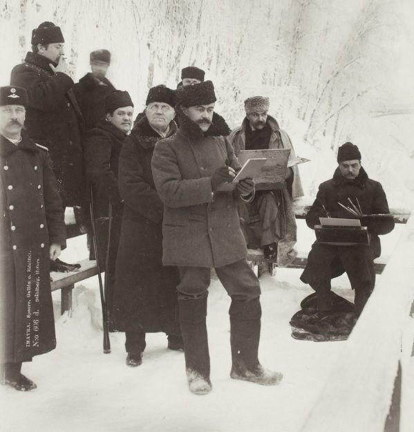 Louis Sparre, Axel Gallén ja Albert Edelfelt 1890