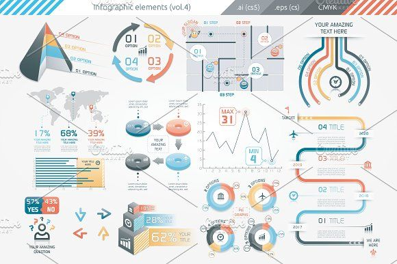 @newkoko2020 Infographic Elements (v4) by Infographic Paradise on @creativemarket #infographic #infographics #bundle #download #design #template #set #presentation #vector #buy #graph #discount