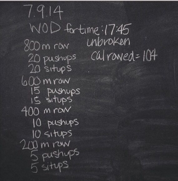 Rowing pyramid WOD   Rowing machine workout, Rower workout ...