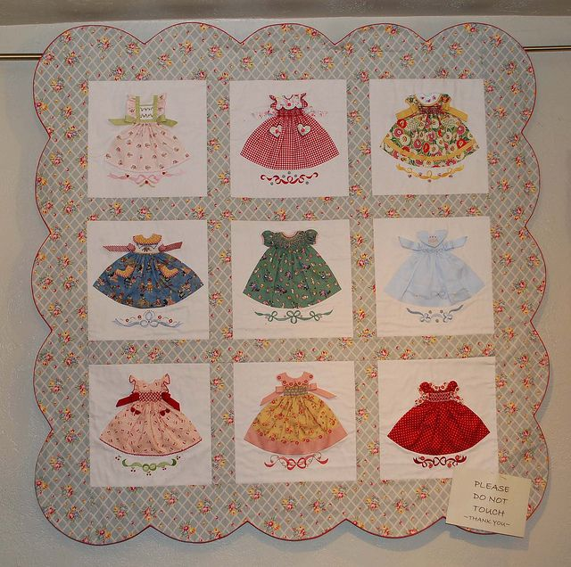 17 Best images about Dress Quilt on Pinterest Doll dresses, Christening gowns and Patterns