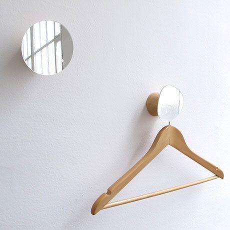 Mirrored Wall Hook by Reine Mere | MONOQI #bestfdesign