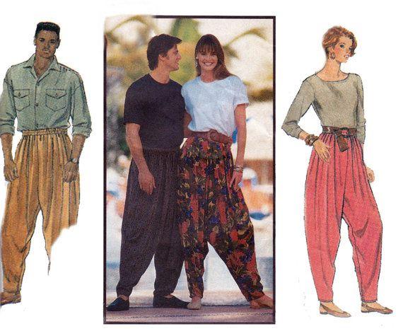 années 90 MC Hammer pantalon sarouel par allthepreciousthings