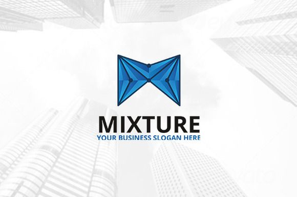 Mixture Logo by atsar on Creative Market