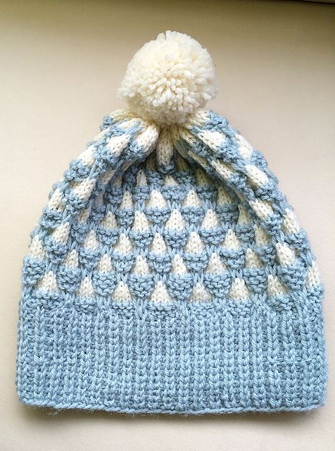Ravelry: Clouds and Mountains hat