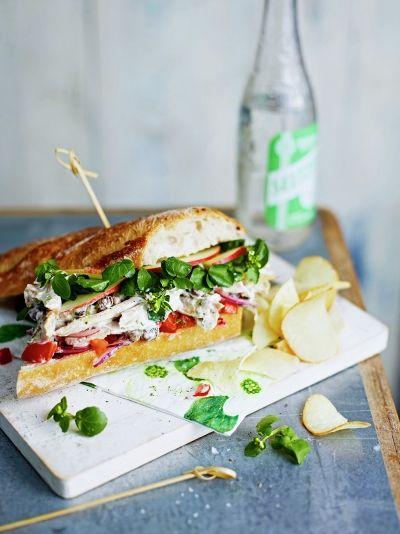 Chicken salpicao sub | Jamie Oliver