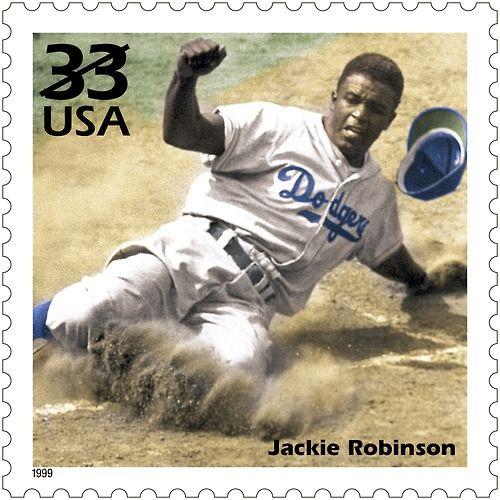 Resultado de imagem para SELO Dia de Jackie Robinson