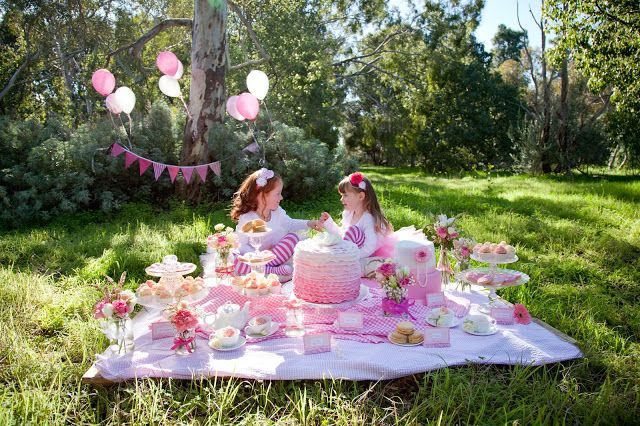Tea Party Decoration Picnic Garden Tea Party Tea Party