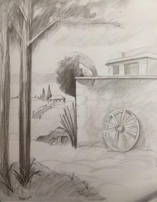 Uzaklarda bir yerlerde, bir zamanlar MSGSÜ hazırlanan kızın elinden #drawing#art#charcoal
