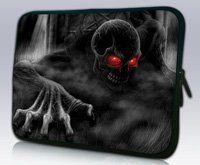 Красных глаз Skull11.6  12  дизайн ноутбука чехол нетбук сумка для лощине Acer Thinkpad sony, водонепроницаемый, ударопрочный
