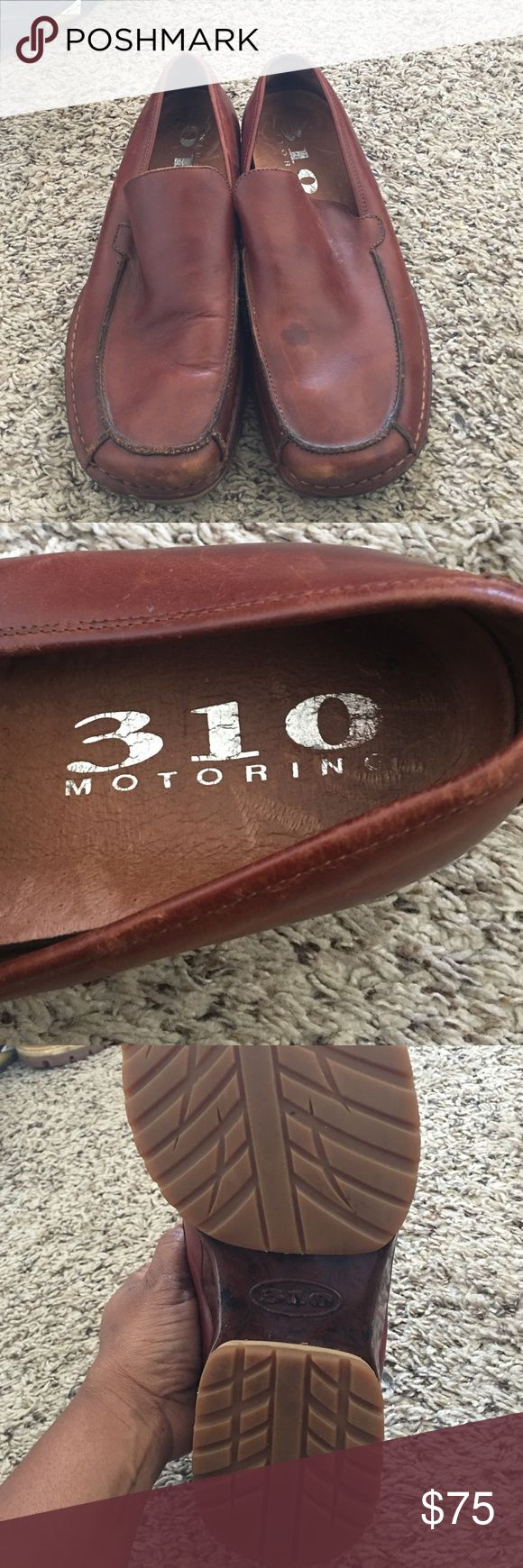 310 motoring brown leather loafer for men! 310 Motoring Men's driving loafer! Brown Leather! Comfortable! Can dress up or down! Great condition! 310 motoring Shoes Loafers & Slip-Ons