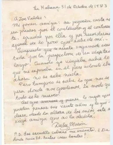 Veinte años sin Dulce Maria Loynaz – ¡Libertad y Vida! Zoé Valdés Publicación Digital