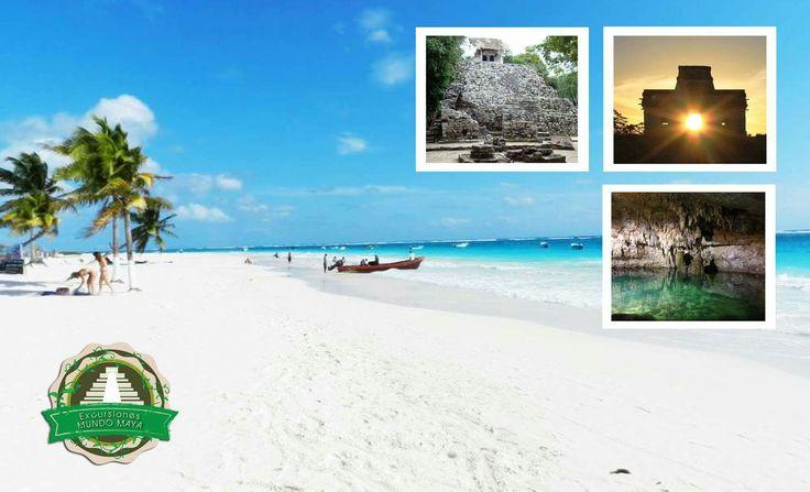 Tour: Coba - Choo Ha + Tulum -Playa Paraiso ¿Sabes por qué no puedes perderte esta excursión? porque incluye: ✳️Unas ruinas mayas en medio de la selva: #COBA ✳️Unas ruinas mayas a orillas del mar. #TULUM ✳️Un cenote: #CHOOHA ✳️Una playa: #PLAYA #PARAISO ___________________ Coba - Choo Ha + Tulum -Playa Paraiso Do you know why you can not miss this excursion? Because it includes: ✳Mayan ruins in the middle of the jungle: #COBA ✳Mayan Ruins at the Sea side: #TULUM ✳Cenote: #CHOOHA ✳Beach…