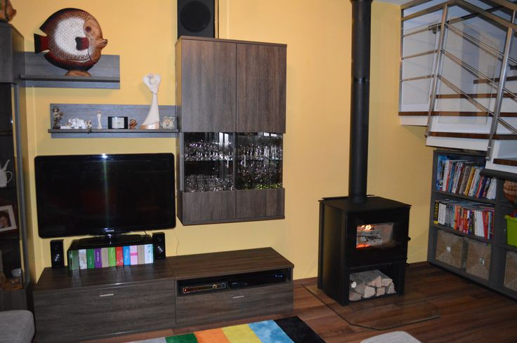 Kanadské krbové kachle v elegantnom prostredí #stove #canadian #livingroom ,#kachle #krbex