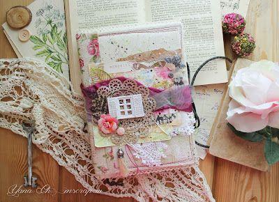 My scrap: ♥Душевный садовый блокнотик♥