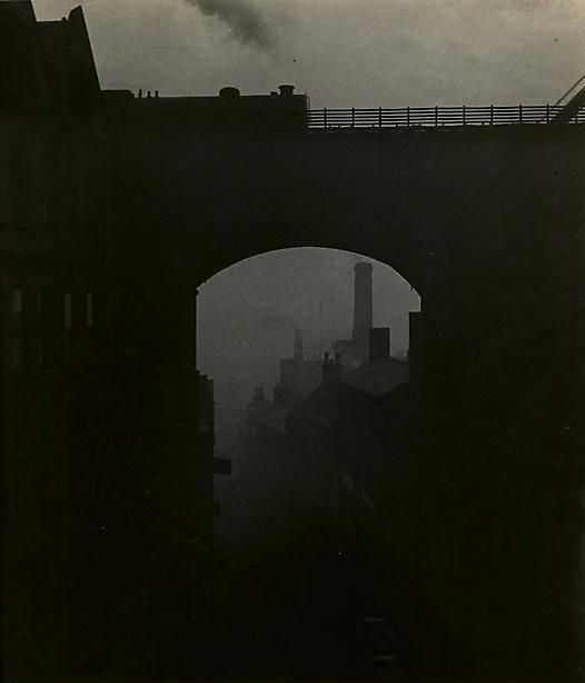 Bill Brandt-Train Leaving Newcastle Upon Tyne, 1937