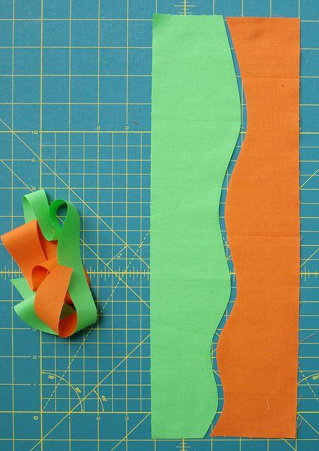 Making Waves - Tutoriel: coupe et courbes à coudre à la main libre