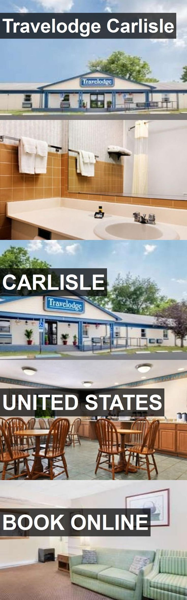 Hotel Travelodge Carlisle in Carlisle, United States. For more information, photos, reviews and best prices please follow the link. #UnitedStates #Carlisle #travel #vacation #hotel
