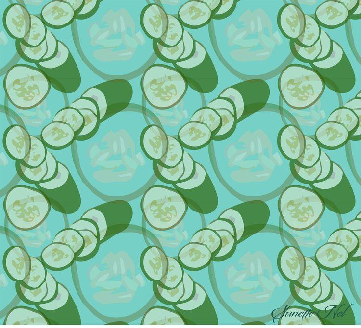 Cucumber blue