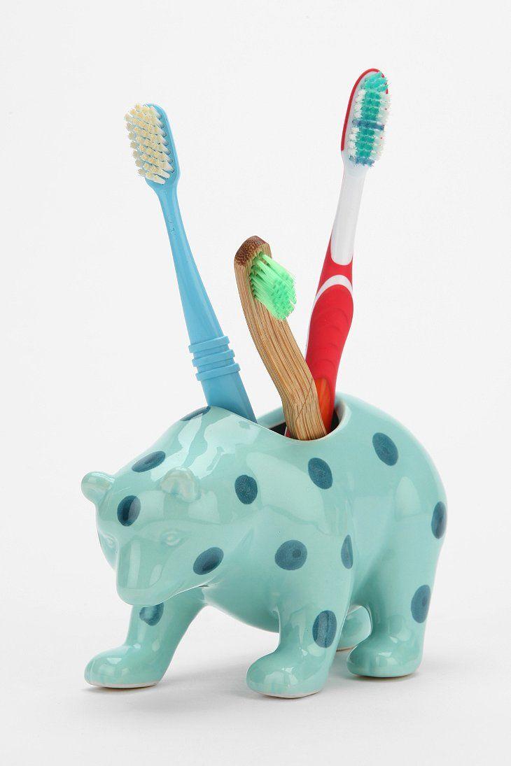 Plum & Bow Bear Toothbrush Holder