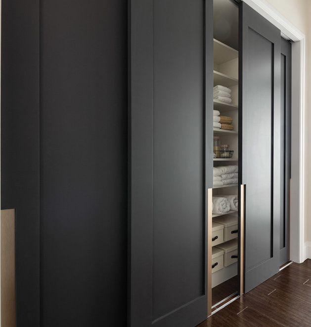 Making Use Of Every Inch 21 Wardrobe Ideas You Cannot Miss: Sliding Door Hardware Detail By TruStile