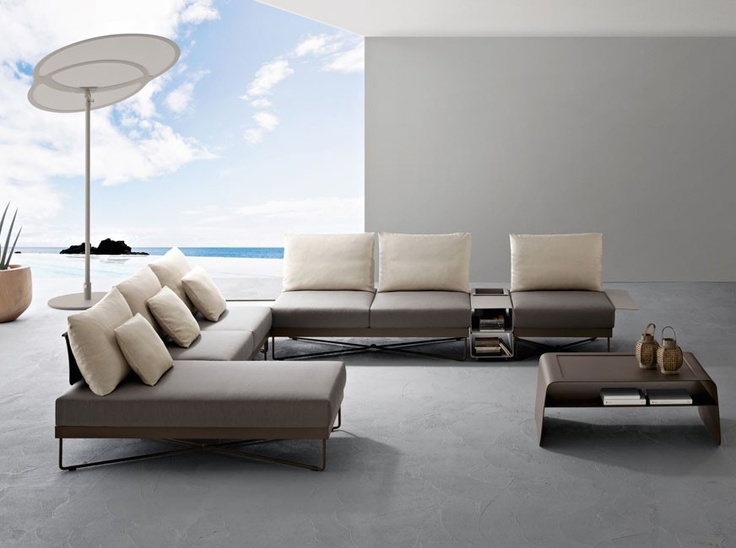 Perfect Coral Reef Sectional Sofa Combination (A)   Roberti   Italy Contemporary  Outdoor Sofas