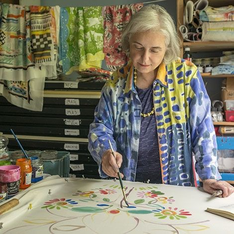 July 1, Fabric Painting with Sarah Campbell, London - Selvedge