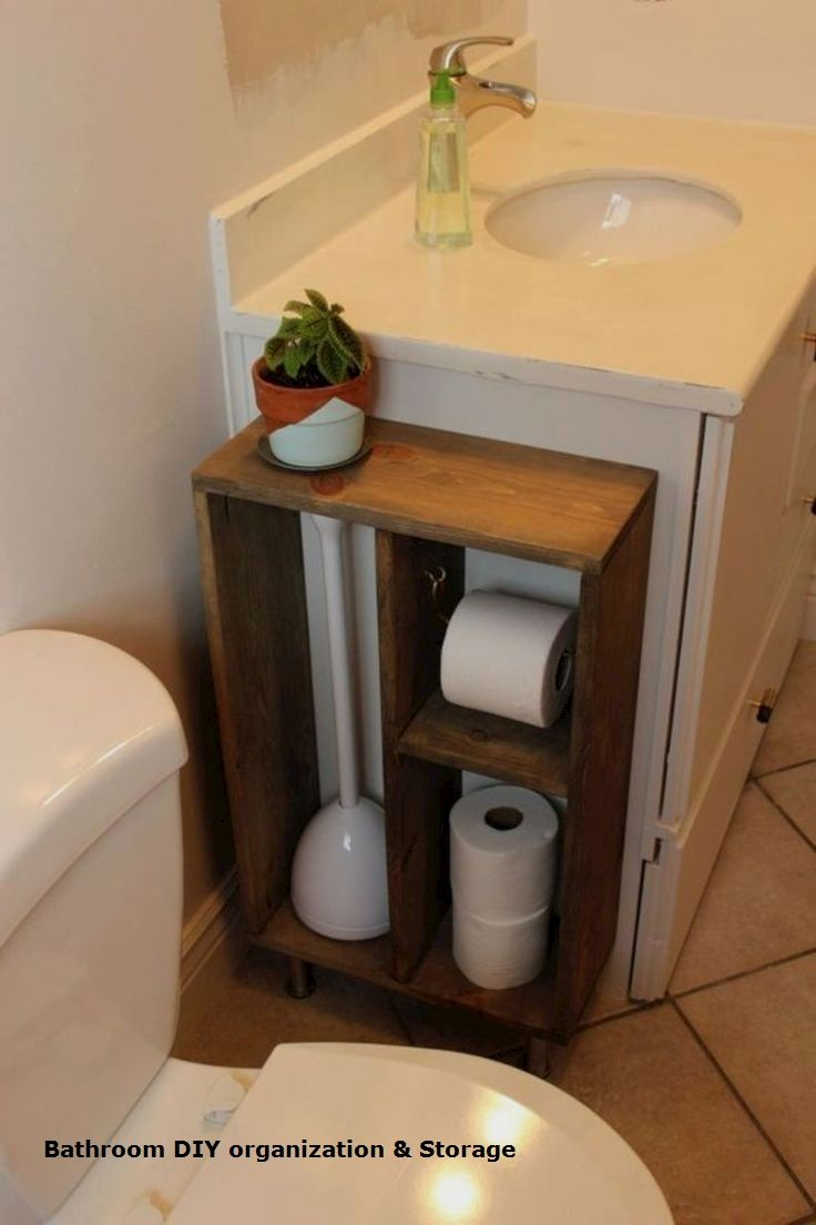 15 Creative Storage Diy Ideas For Modern Bathrooms 1 Small Chest Of Drawers In 2020 Small Bathroom Organization Diy Storage Bathroom Organization
