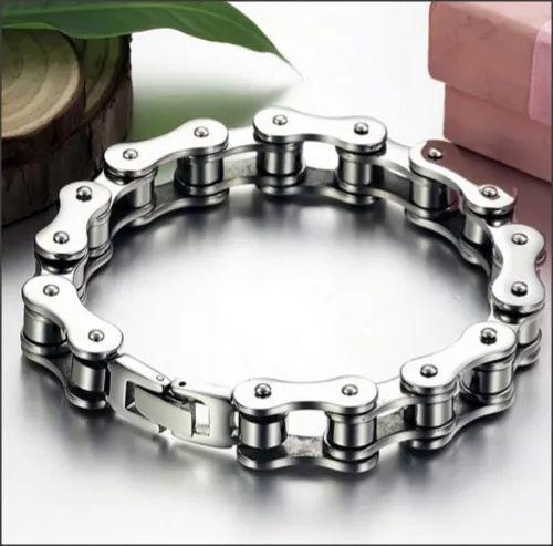 pulsera de cadena para hombres de acero inoxidable