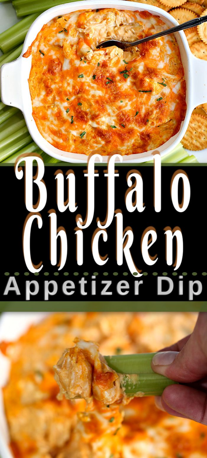 Jun 17, 2020 – This is the best BUFFALO CHICKEN DIP appetizer recipe. An easy 5 ingredient recipe for your next party. I…