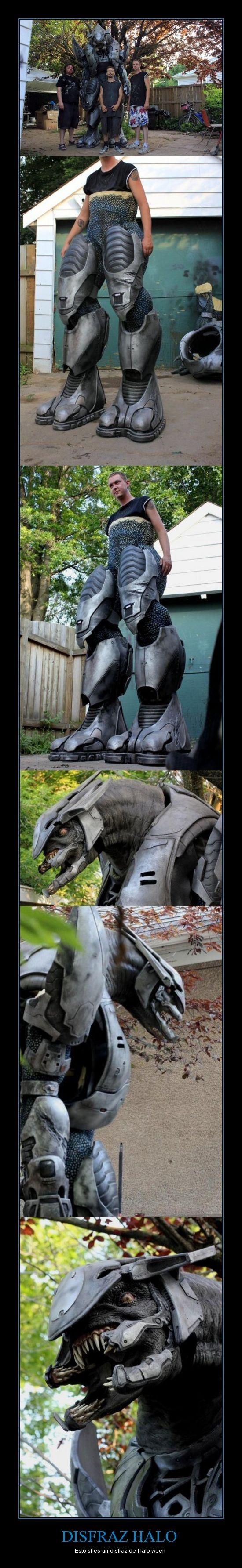 DISFRAZ HALO - Esto sí es un disfraz de Halo-ween