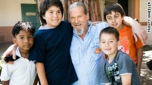 Jeff Bridges End Hunger Network for 'no kid hungry'