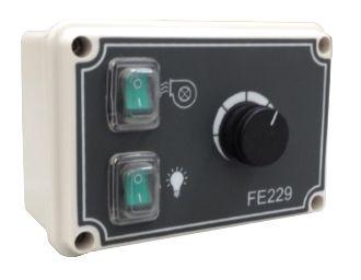 4.5 A Analog speed regulator for single-phase induction motors FE229