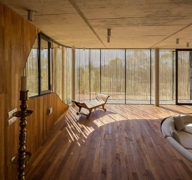 Custom made bamboo shutters / House in Ibiza by Metroarea | HomeAdore